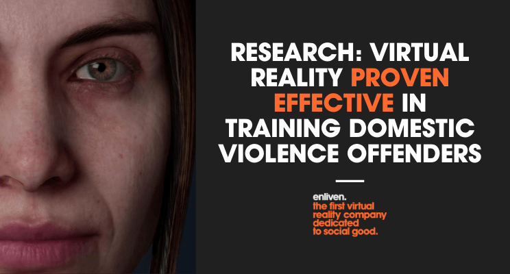 Onderzoek: virtual Reality succesvol in training partnergeweld.