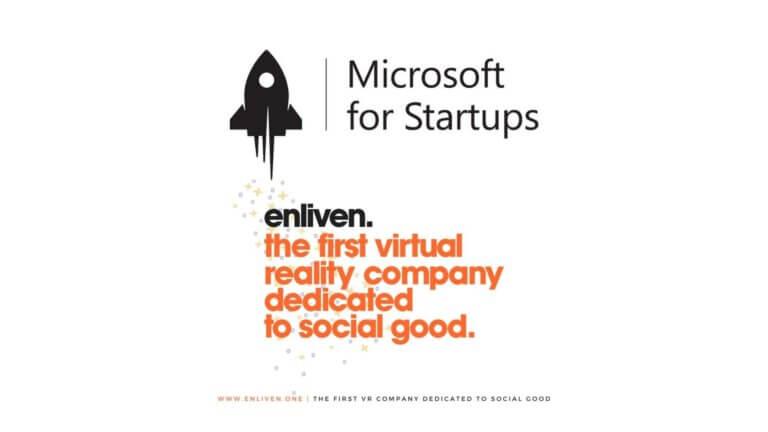Enliven officieel partner van het Microsoft for Startups program!